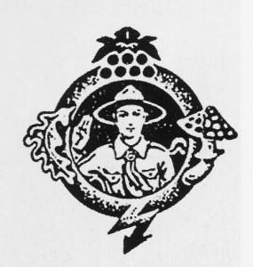 Знак видавництва «Український Пласт» у Празі