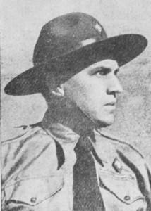 Роберт Лісовський у пластовому однострої, 1930-ті роки