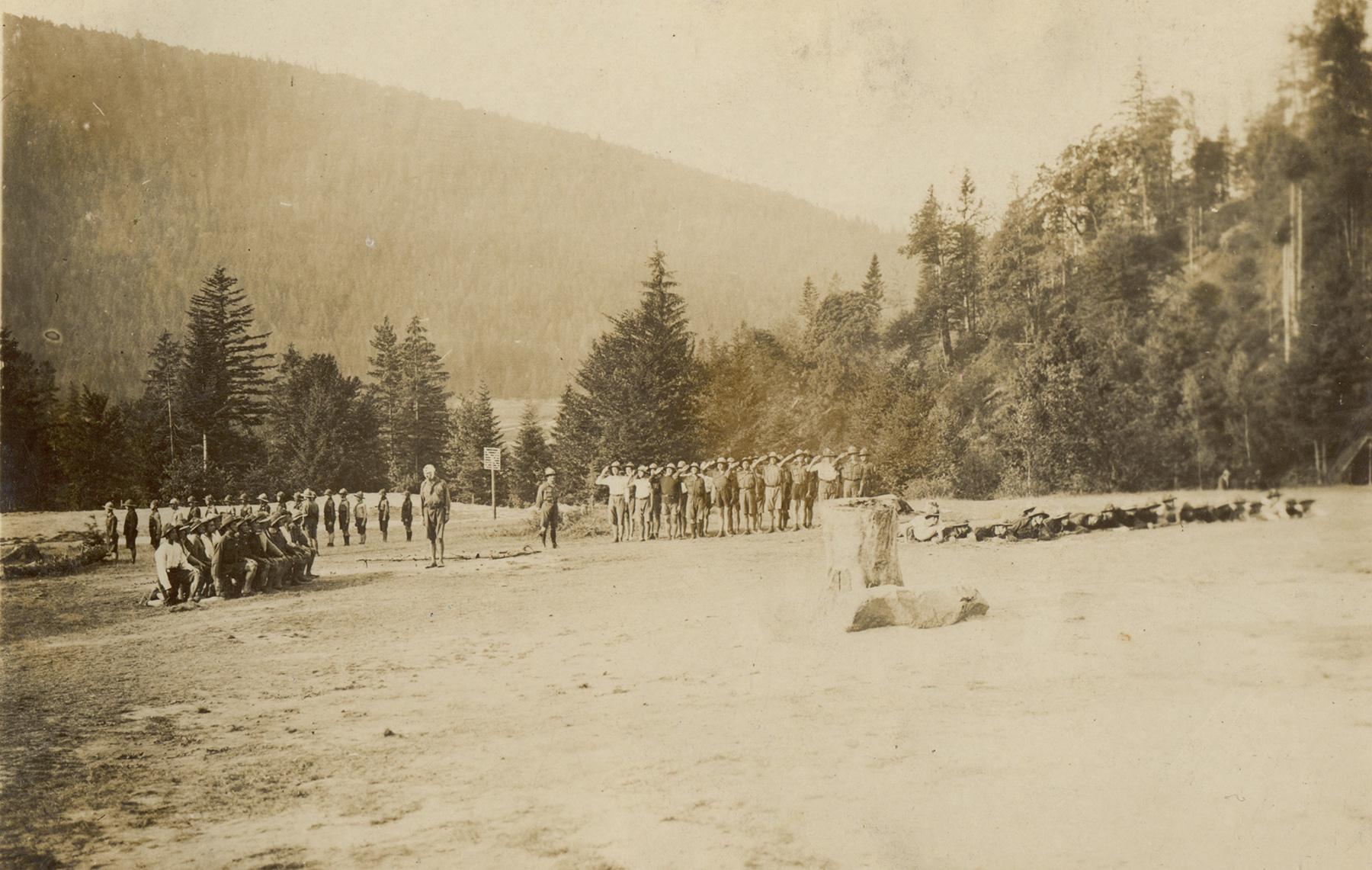 Пластовий табір Сокіл, 1928 рік