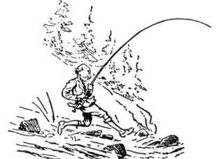 Щоб зловити пструга - треба великої зручності і сприту. Пструг може звести велику боротьбу і ти мусиш бути дуже чуйним, щоб його не пустити