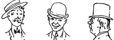 Чи можеш дізнатись про їх характер за способом, як вони носять капелюх?
