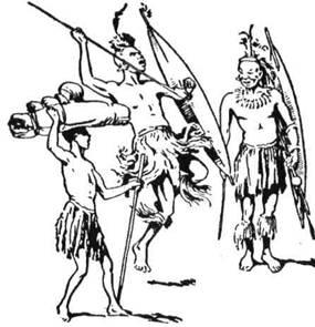 У зулусів поміж хлопцем і зрілим чоловіком є ще Юм-Фен (молодий джура), молодий войовник і Рінґ-Коп - ветеран