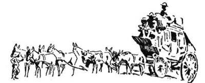 Через край Матабелів воза тягнуло вісім мулів