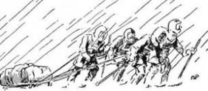 Капітан Лоренс Оутс виявив під час останньої мандрівки Скота до Південного Полюса велику відвагу. Він загинув, щоб друзі могли жити