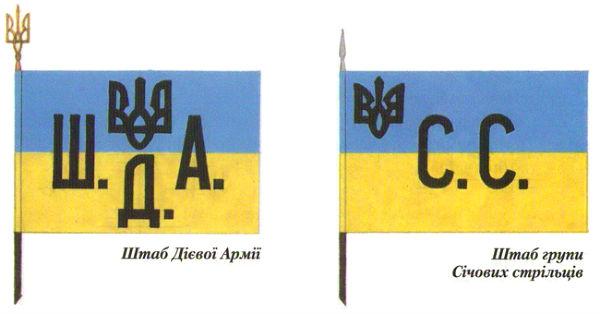 Прапори для Дієвої армії УНР, наказ від 30 липня 1919 р.