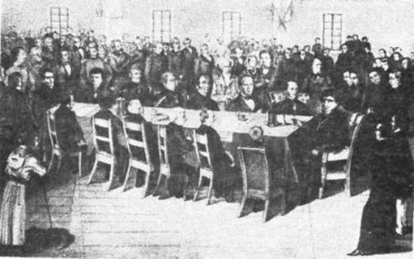 Засідання Головної Руської Ради у Львові в 1848 році