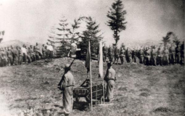 Присяга УПА. Гуцульщина, 1944 р.